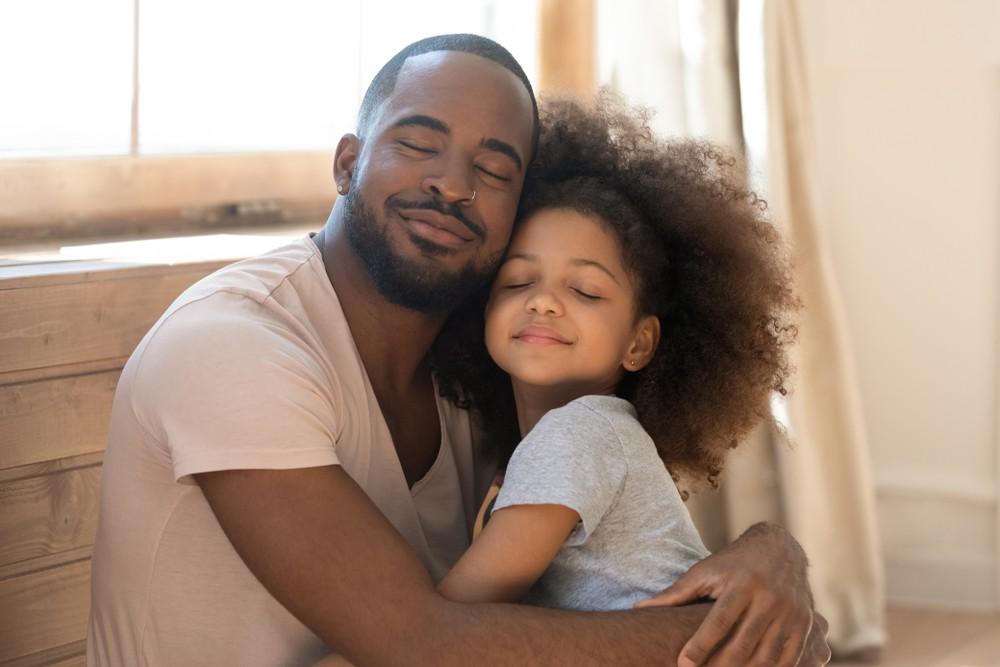 Schwarzer Vater Tochter